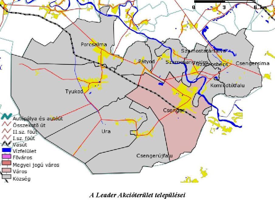 A Leader Akcióterület települései-page-001